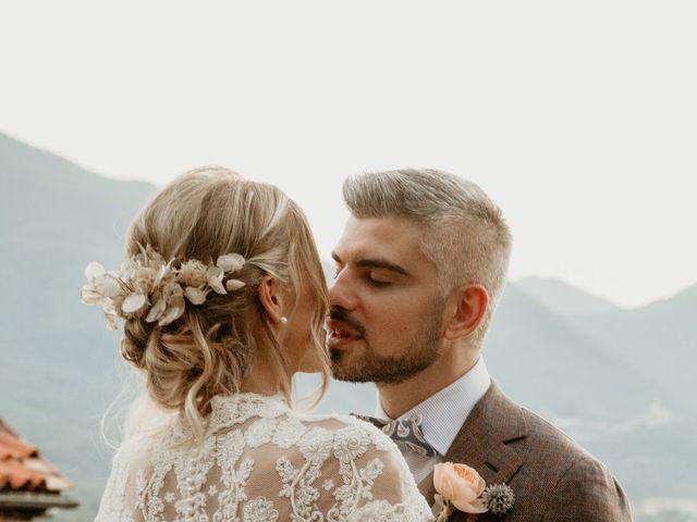 Il matrimonio di Gianmarco e Silvia a Filattiera, Massa Carrara 64