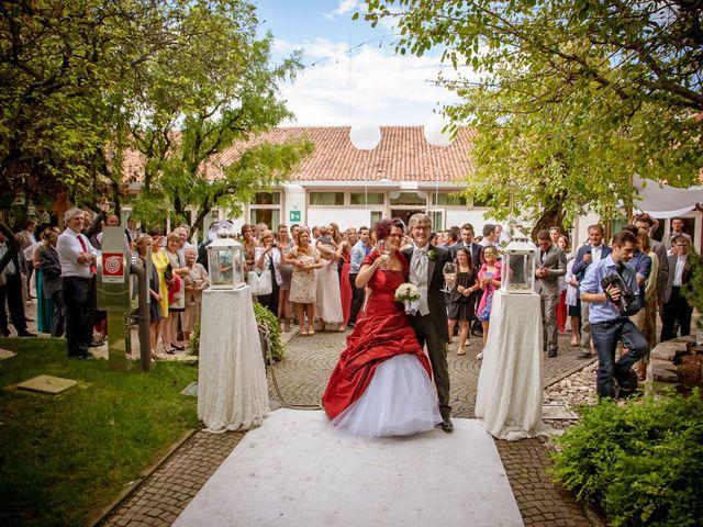 Il matrimonio di Marco e Alice a San Giorgio in Bosco, Padova 18