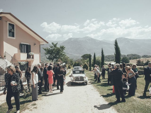Il matrimonio di Alessandro e Veronica a Alvito, Frosinone 19