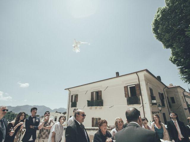 Il matrimonio di Alessandro e Veronica a Alvito, Frosinone 38