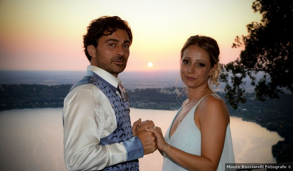 Il matrimonio di Tatiana e Emanuele a Castel Gandolfo, Roma