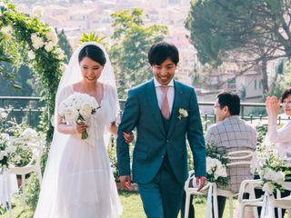 Le nozze di Yume e Makoto