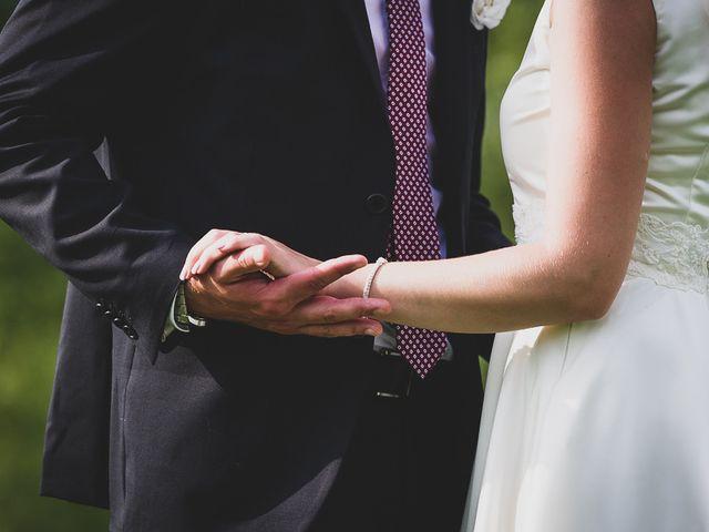 le nozze di Melissa e Thomas