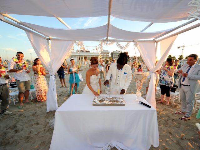 Il matrimonio di Filias e Valentina a Misano Adriatico, Rimini 31