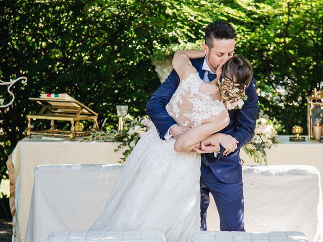 Il matrimonio di Mirko e Elena a Varese, Varese 50