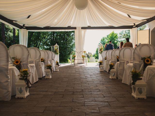 Il matrimonio di Fabio e Francesca a Gattico, Novara 9