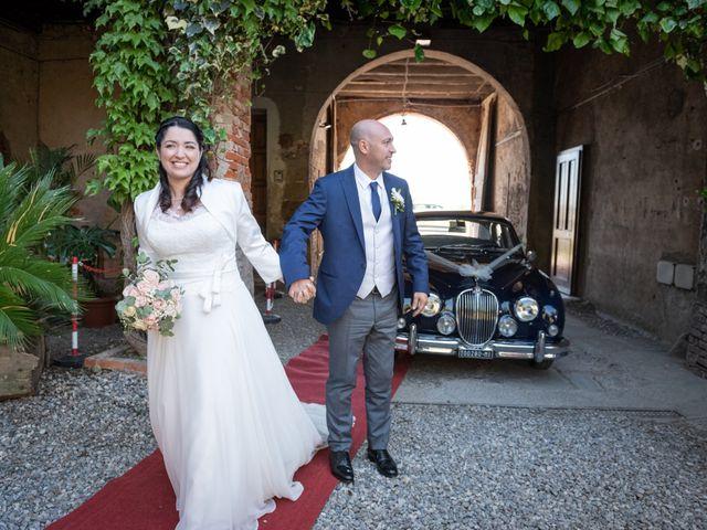 Il matrimonio di Alberto e Claudia a San Giuliano Milanese, Milano 10