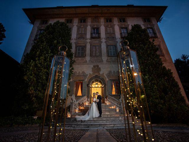 Il matrimonio di Sara e Diego a Trescore Balneario, Bergamo 97