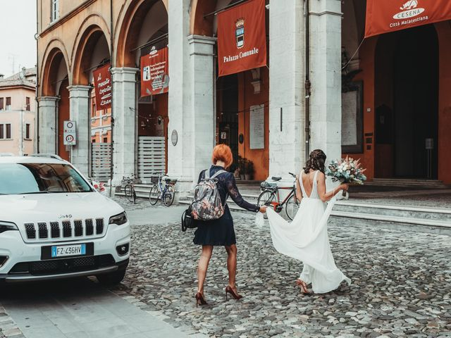 Il matrimonio di Christina e Luca a Cesena, Forlì-Cesena 6