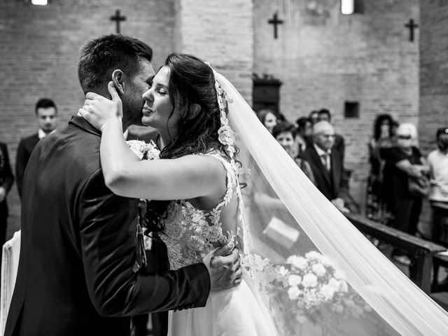 Il matrimonio di Matteo e Caterina a Bagnacavallo, Ravenna 33