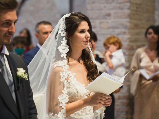 Il matrimonio di Matteo e Caterina a Bagnacavallo, Ravenna 34