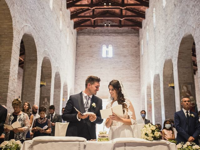 Il matrimonio di Matteo e Caterina a Bagnacavallo, Ravenna 41