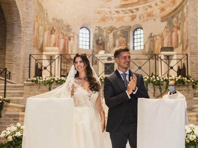 Il matrimonio di Matteo e Caterina a Bagnacavallo, Ravenna 43
