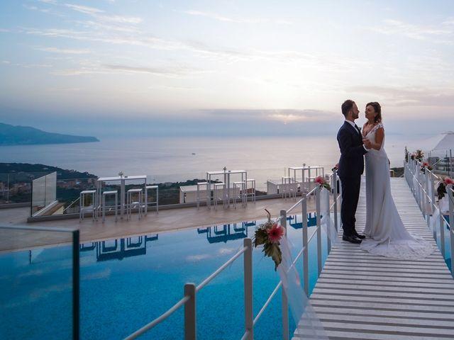 Il matrimonio di Giorgia e Lucio a Sorrento, Napoli 1