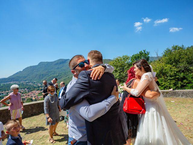 Il matrimonio di Thomas e Irene a Cuasso al Monte, Varese 50