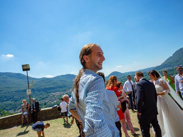 Il matrimonio di Thomas e Irene a Cuasso al Monte, Varese 52