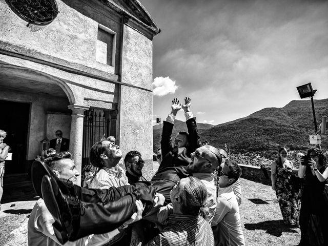 Il matrimonio di Thomas e Irene a Cuasso al Monte, Varese 54
