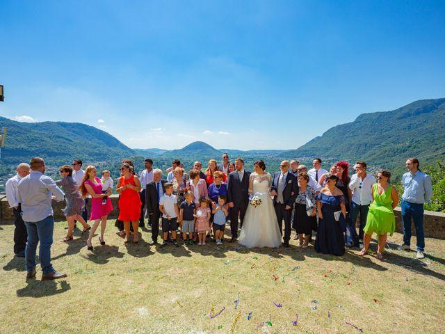 Il matrimonio di Thomas e Irene a Cuasso al Monte, Varese 55
