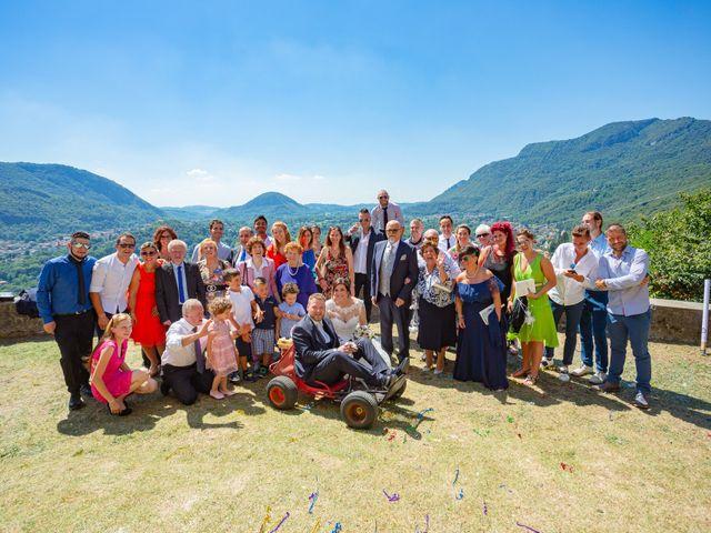 Il matrimonio di Thomas e Irene a Cuasso al Monte, Varese 57