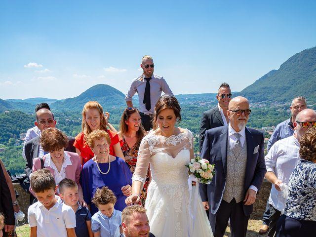 Il matrimonio di Thomas e Irene a Cuasso al Monte, Varese 58