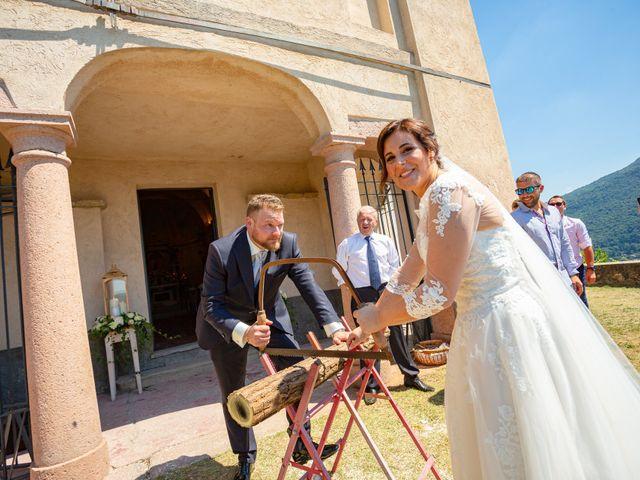 Il matrimonio di Thomas e Irene a Cuasso al Monte, Varese 59