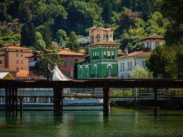 Il matrimonio di Thomas e Irene a Cuasso al Monte, Varese 78