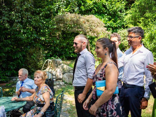 Il matrimonio di Thomas e Irene a Cuasso al Monte, Varese 82