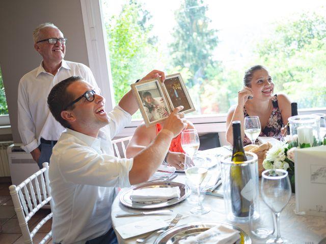 Il matrimonio di Thomas e Irene a Cuasso al Monte, Varese 100