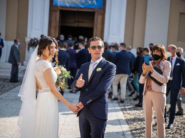 Il matrimonio di Davide e Ilaria a Ghedi, Brescia 33
