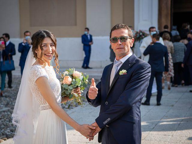 Il matrimonio di Davide e Ilaria a Ghedi, Brescia 34