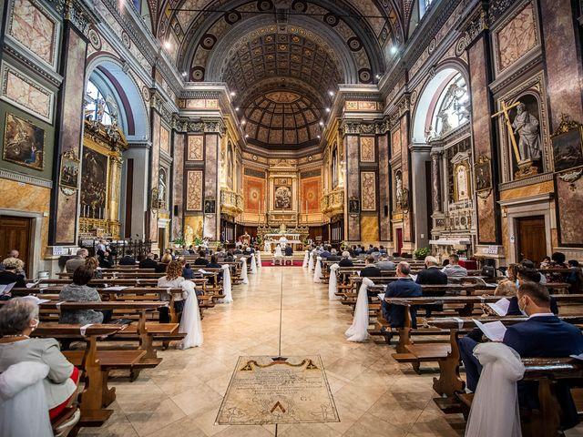 Il matrimonio di Davide e Ilaria a Ghedi, Brescia 37