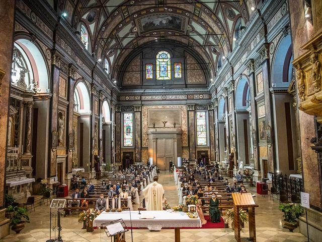 Il matrimonio di Davide e Ilaria a Ghedi, Brescia 38