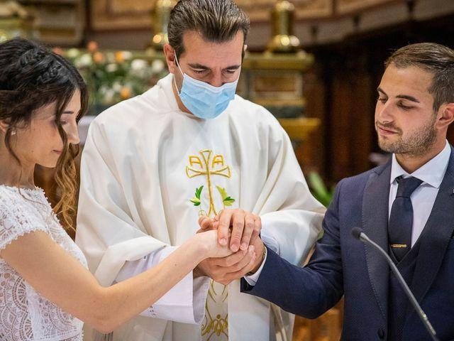 Il matrimonio di Davide e Ilaria a Ghedi, Brescia 40