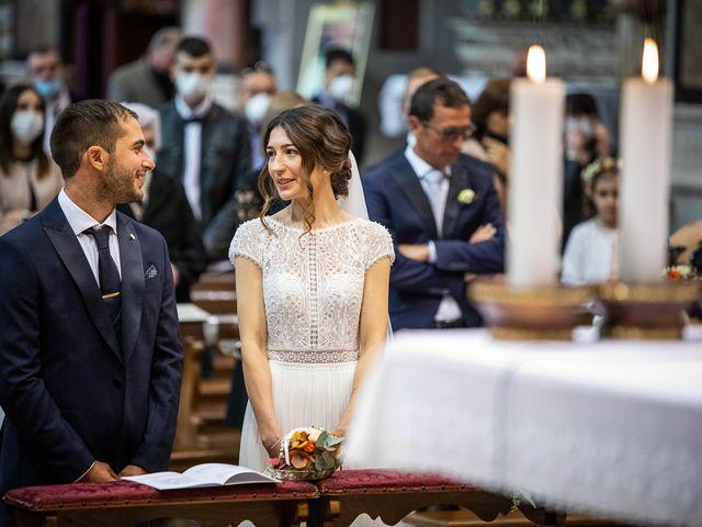 Il matrimonio di Davide e Ilaria a Ghedi, Brescia 41