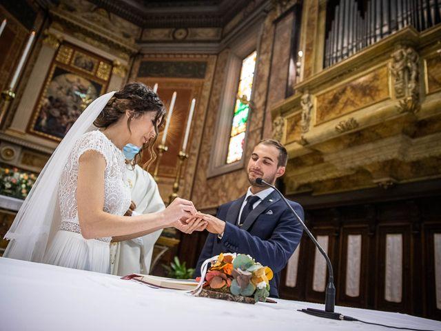 Il matrimonio di Davide e Ilaria a Ghedi, Brescia 42