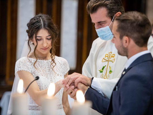 Il matrimonio di Davide e Ilaria a Ghedi, Brescia 43