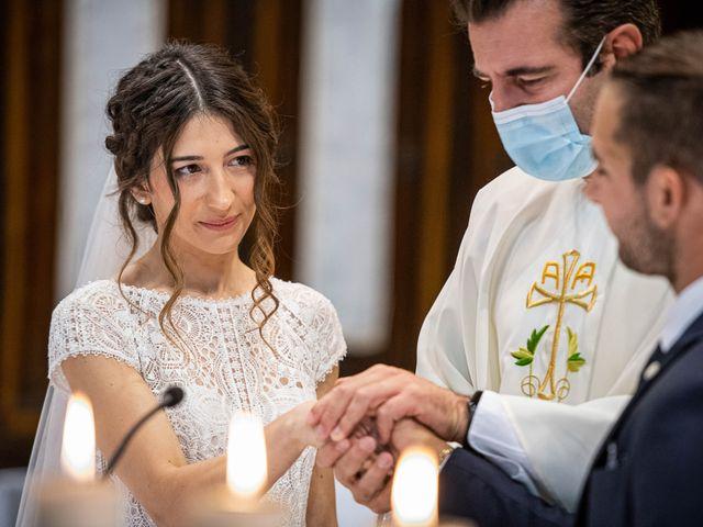 Il matrimonio di Davide e Ilaria a Ghedi, Brescia 44