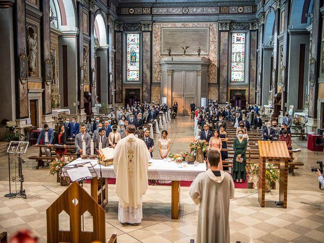 Il matrimonio di Davide e Ilaria a Ghedi, Brescia 46