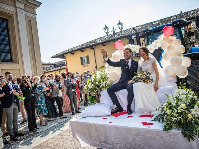 Il matrimonio di Davide e Ilaria a Ghedi, Brescia 50