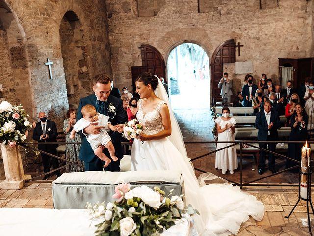 Il matrimonio di Luigi e Martina a Bracciano, Roma 34