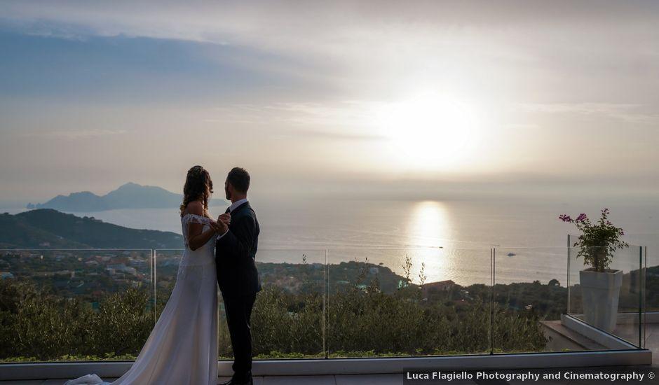 Il matrimonio di Giorgia e Lucio a Sorrento, Napoli