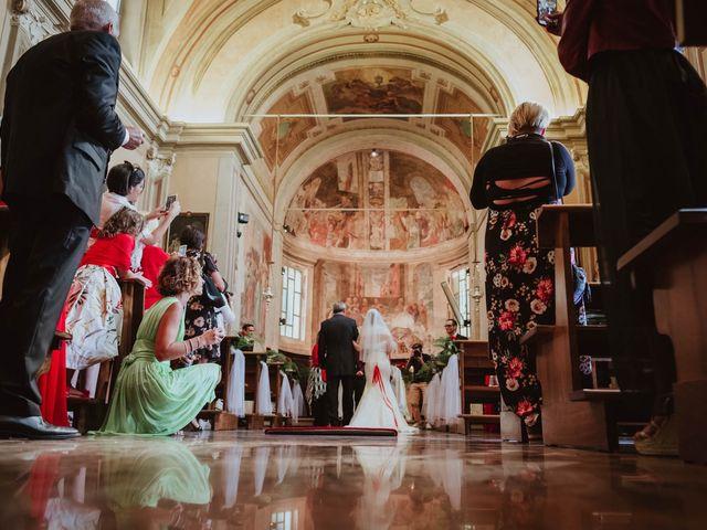 Il matrimonio di Simone e Francesca a Inzago, Milano 38