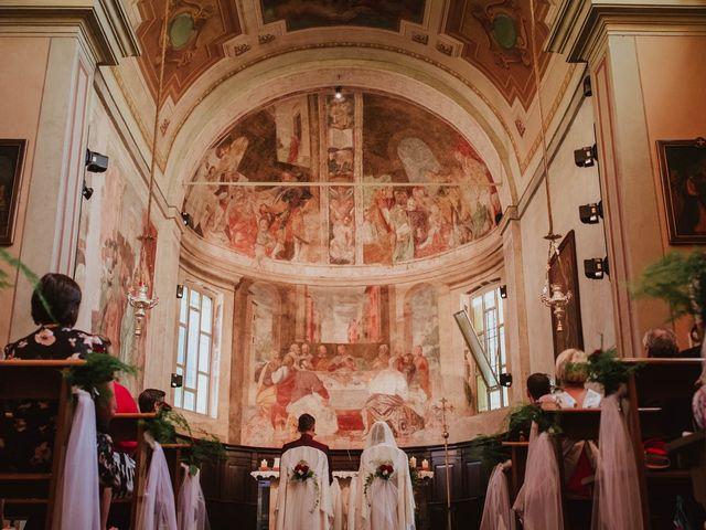 Il matrimonio di Simone e Francesca a Inzago, Milano 39