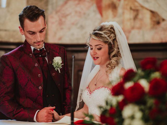 Il matrimonio di Simone e Francesca a Inzago, Milano 40