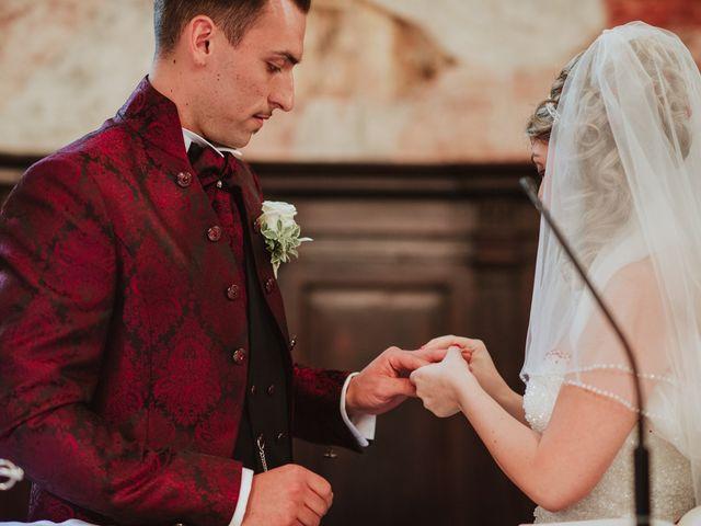 Il matrimonio di Simone e Francesca a Inzago, Milano 42