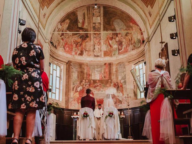 Il matrimonio di Simone e Francesca a Inzago, Milano 43