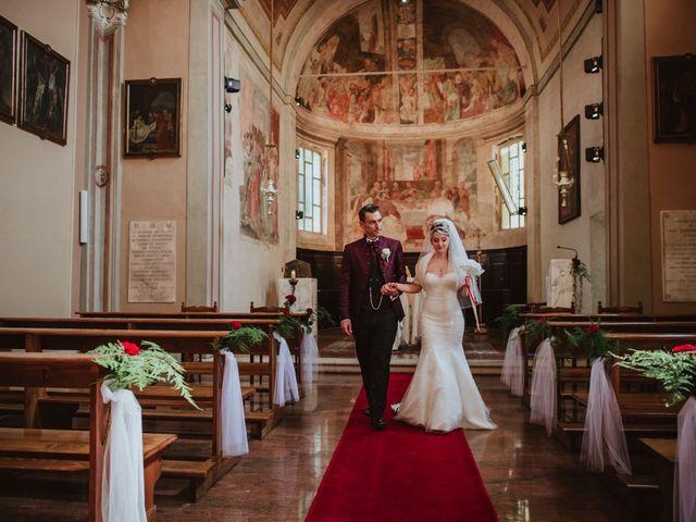 Il matrimonio di Simone e Francesca a Inzago, Milano 46
