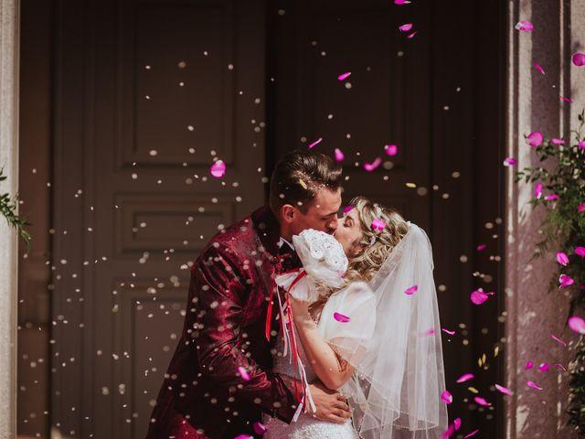 Il matrimonio di Simone e Francesca a Inzago, Milano 52