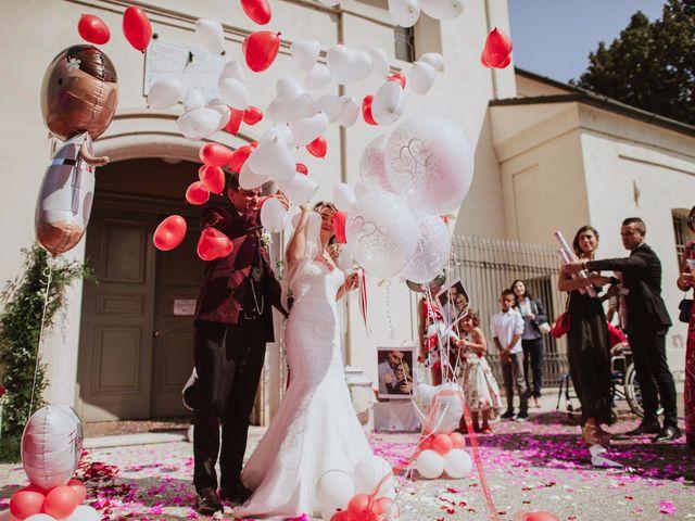 Il matrimonio di Simone e Francesca a Inzago, Milano 54