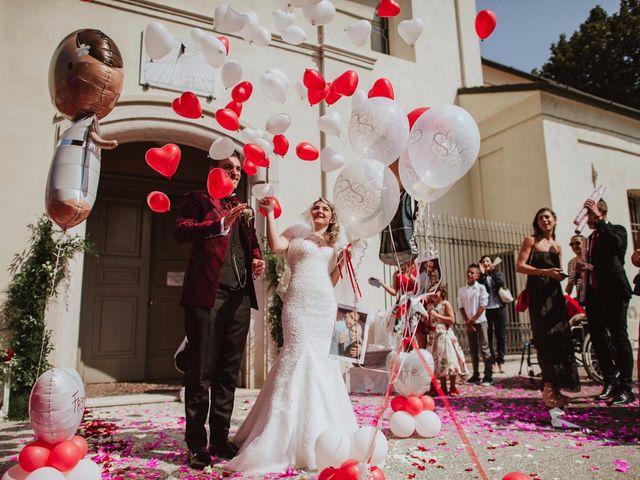 Il matrimonio di Simone e Francesca a Inzago, Milano 55